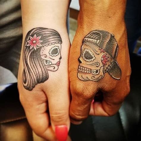 creative tattoos for couples 121 unique skull tattoos designs for