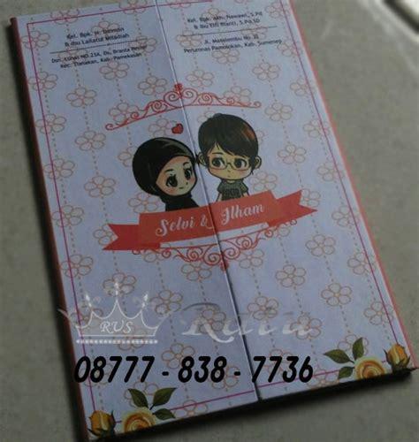 Undangan Custom Kertas Paper 260gsm undangan pernikahan lucu undangan custome unik ratu