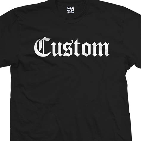 Personalized Sleeve T Shirt Custom Your Text Printed Gre custom classic personalized t shirt