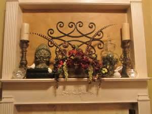 kitchen mantel decorating ideas embellishments by slr tuscan mantel