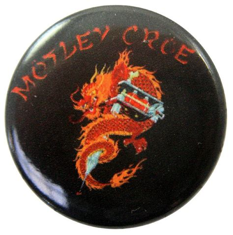 motley crue new tattoo motley crue new button badge