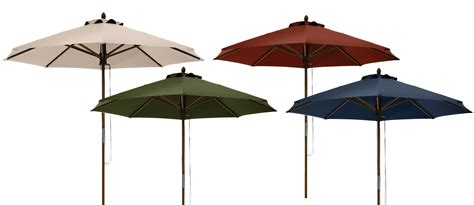 Bamboo Patio Umbrella Classic Accessories Montlake Fadesafe 9 Foot Bamboo Patio Umbrella