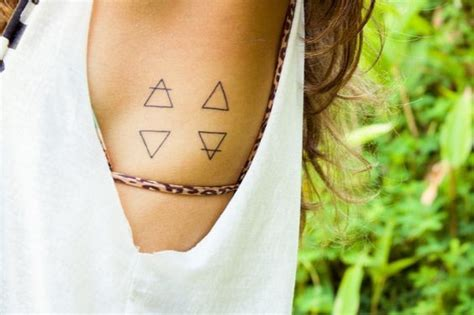 perfect tattoo quiz perfect square triangular tattoos that beautifully