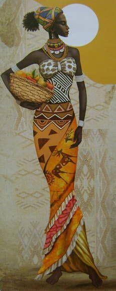 Galerry pintura em tela arte africana