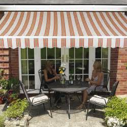 Garden Awning Canopy 11 6 Quot X 8 2 Quot Ft 3 5 X 2 5m Easy Fit Retractable Garden