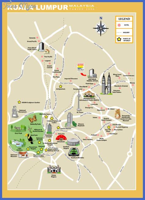 kuala lumpur map tourist attractions kuala lumpur map tourist attractions toursmaps