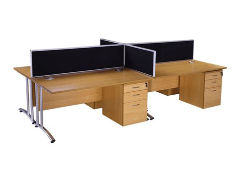 endurance rectangle desk in beech buy used office desks