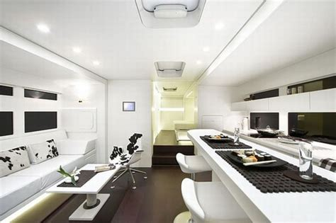 luxury caravans a cero creates the ultimate luxury motor home with a