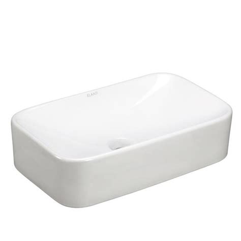 rectangle vessel sinks bathroom sinks bath the home depot