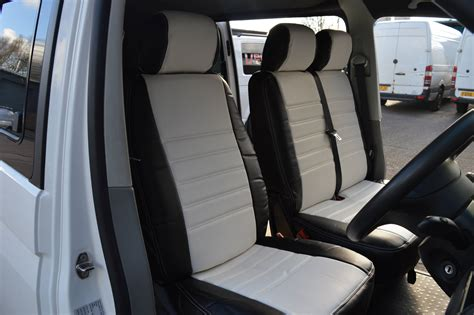 vw t4 seat upholstery t4 seat covers white vee dub transporters