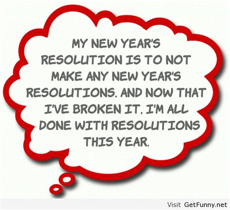 new year resolution quote where thou i ain t doing it i refuse