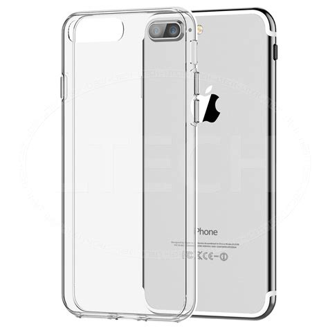 Iphone 7 Plus Custom Softcase for apple iphone 7 plus tempered glass w soft gel thin