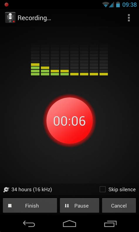 recording app for android smart voice recorder the name says it all androidtapp