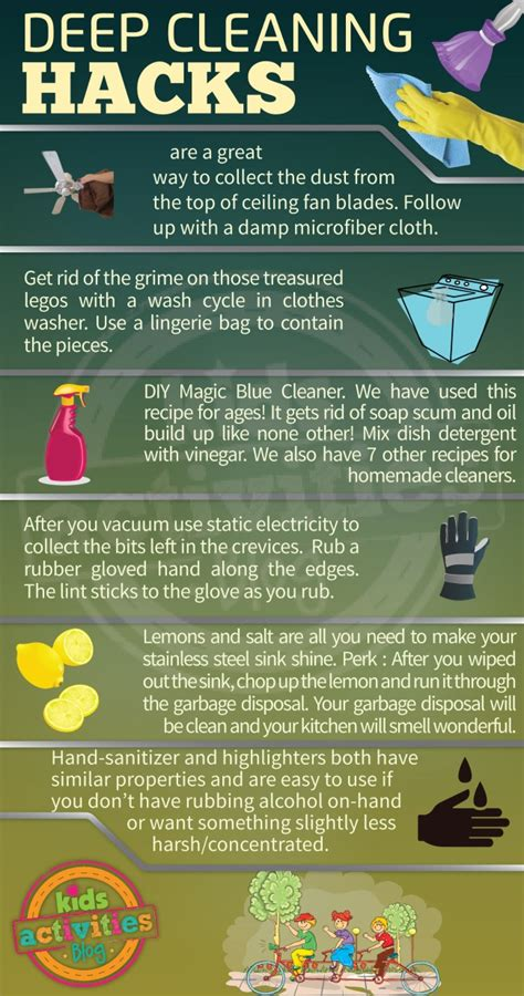 cleaning house hacks deep cleaning hacks