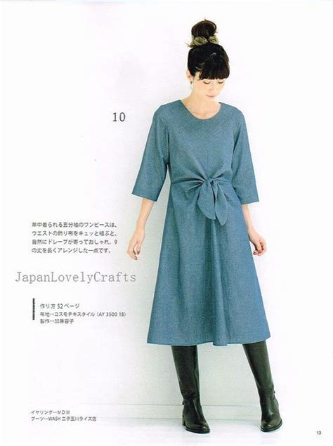 pattern for japanese jacket japanese sewing casual dresses and tunics on pinterest