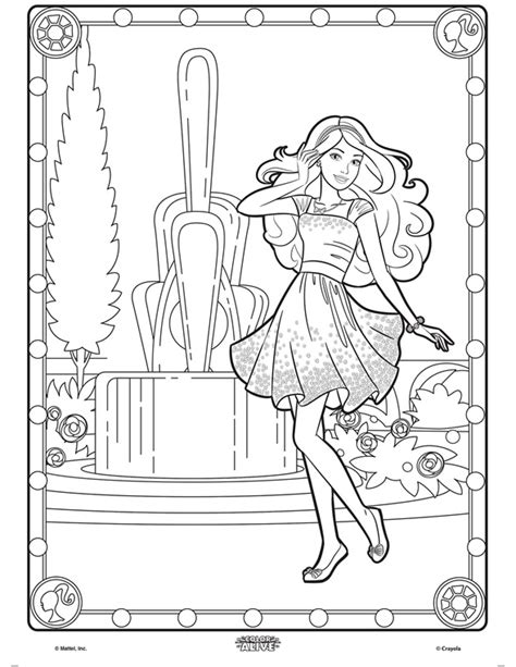 color alive color alive coloring page crayola