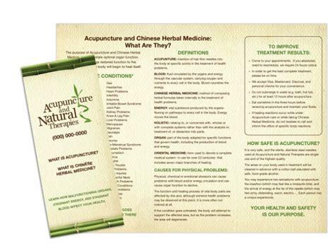 chiropractic brochures template chiropractic brochure sles wilson printing usa