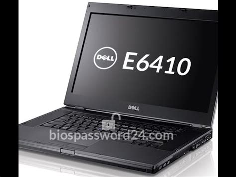 reset bios in dell laptop how to reset bios password dell latitude e6410 youtube