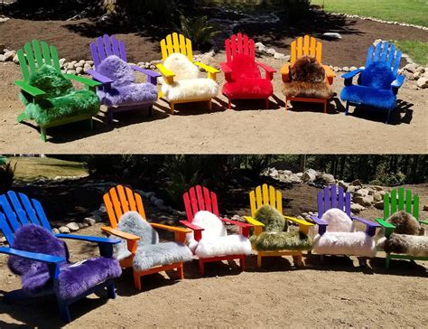 Adirondack Chair Pads by Adirondack Chair Pads By Fibre By Auskin 50 Colors