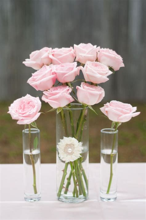 pink wedding ideas classic wedding table decorations