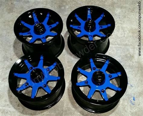 color rims 166 best powder coated wheels images on powder