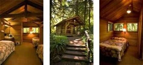 Silver Creek Falls Cabins by Oregon State Parks Silver Falls Cabins