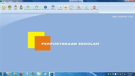 Software Untuk Perpustakaan software perpustakaan sekolah program perpustakaan