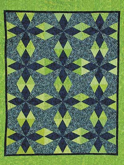 Geometric Quilting Designs by Diamonds Diamonds Everywhere Quilt Pattern Quilting