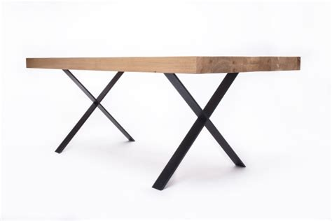 steel and wood table wood steel tables by 5mm studio design