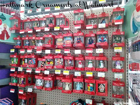 walmart ornaments memories with hallmark and peanut butter