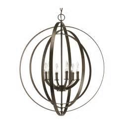 Costco Kitchen Faucets progress orb chandelier pendant light in bronze finish