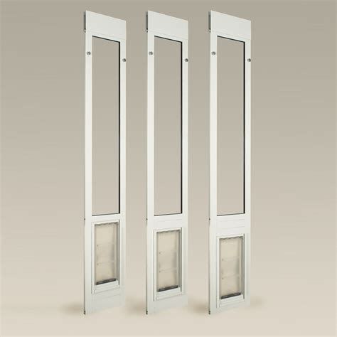 endura flap thermo panel iiie patio insert with flap