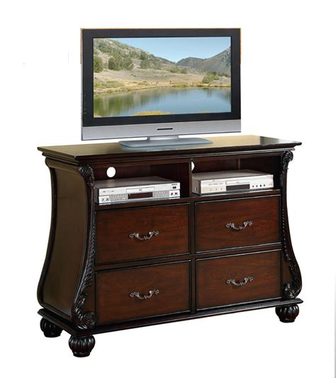 Media Chest With Drawers by Abramson Cherry Traditional 4 Drawer Media Dresser Chest Ebay