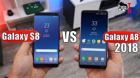 Samsung S8 Vs A8 Samsung Galaxy A8 2018 Vs Galaxy S8 Compare New Mid