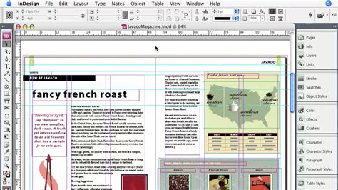 indesign online tutorial indesign cs3 essential training