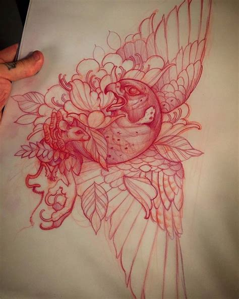 1000  ideas about Neo Traditional Art on Pinterest   Neo Traditional, Third Eye Tattoos and