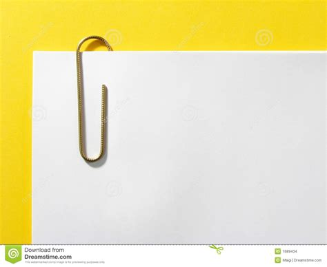 How To Make A Paper Clip - paper clip stock photo image of gripping notes