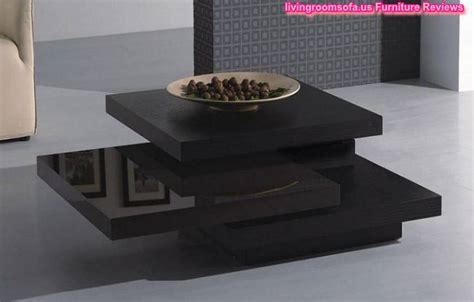 Modern Black Wood Coffee Table Square Design Modern Wood Coffee Table Designs