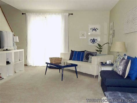 Blue Bookcases New Home Reveal Part I Living Room The Decor Guru