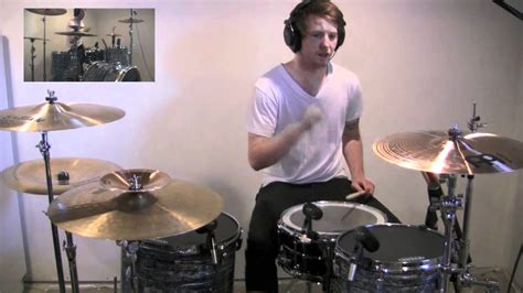 thrice silhouette thrice silhouette drum cover youtube
