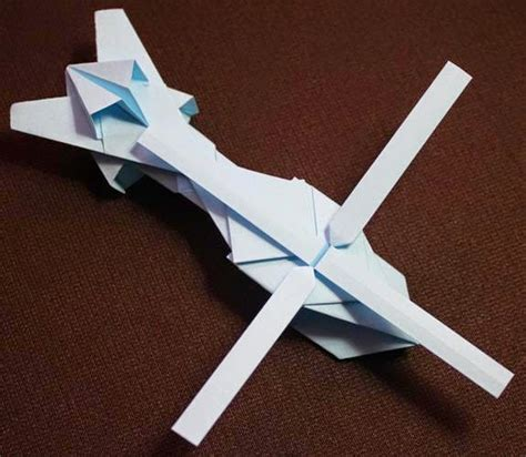 Origami Helicopter Easy - origami easy origami