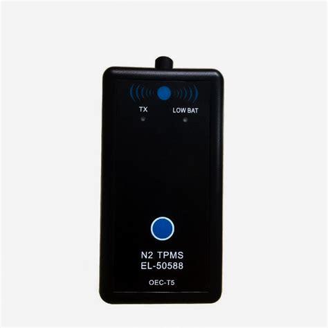 new vxscan el 50448 auto tire pressure monitor sensor tpms vxscan el 50588 auto tire pressure monitor sensor for 2016