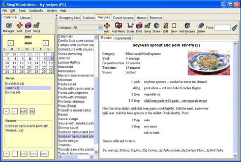printable planner software shareware4u category home hobby food drink
