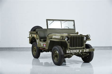willys jeep 1941 jeep willys mb military motorcar classics exotic