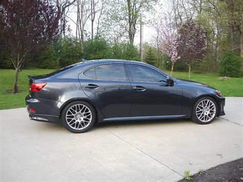 can other fs 2007 lexus is 350 sport package with extras f sport springs on sport package is350 installed