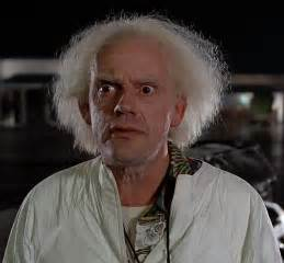 christopher lloyd drives his delorean to emerald city