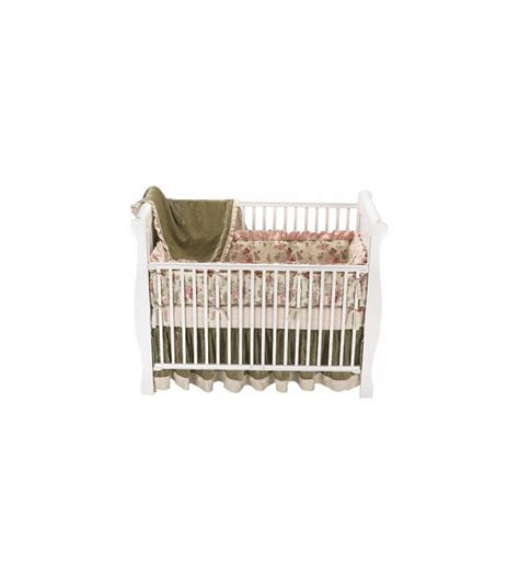 Wendy Bellissimo Crib Set by Wendy Bellissimo Vintage Teaberry 4 Crib Set
