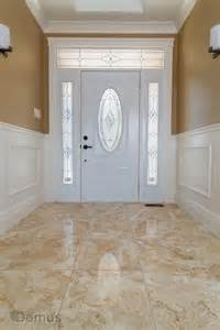 glossy tile flooring at home s main entrance tiles