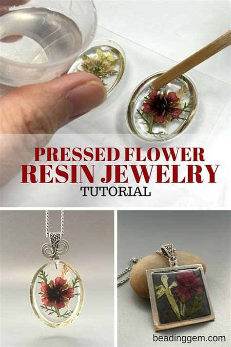 how to make flowers into jewelry how to make pressed flower resin jewelry part 1 the