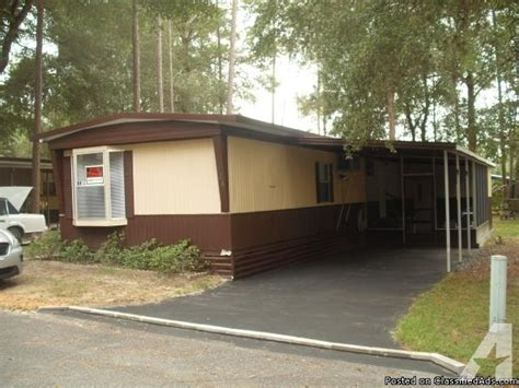 comfortable fully renovated mobile home in 55 well kept
